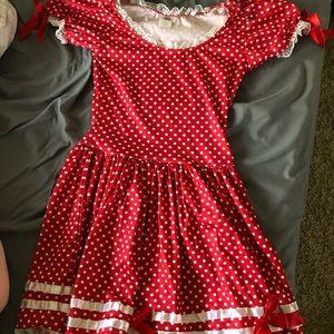 Wind up doll costume dress